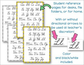 modern cursive writing pack by campingteacher teachers pay teachers. Black Bedroom Furniture Sets. Home Design Ideas