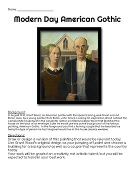 Modern Day American Gothic Project