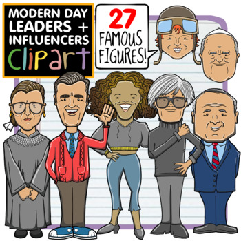 Modern Day Leaders + Influencers Clip Art