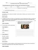 EDITABLE - Modern Day School Integration Close Read and Po