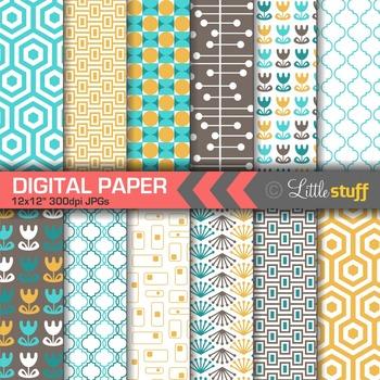 Modern Designs Digital Paper Pack