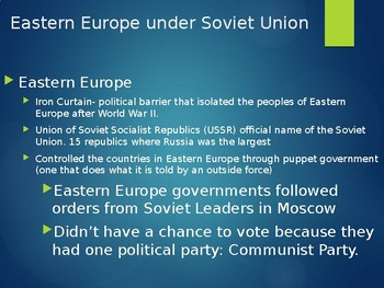 Modern Europe Powerpoint