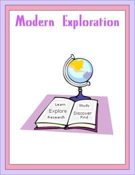 Modern Exploration Thematic Unit