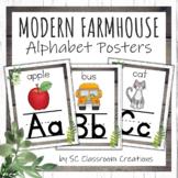 Modern Farmhouse Alphabet Posters- Classroom Decor