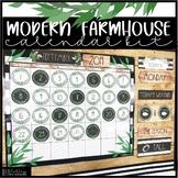 Modern Farmhouse Calendar Kit