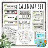 Modern Farmhouse Calendar Set -Classroom Decor