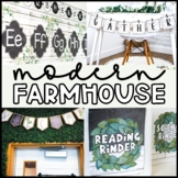 Modern Farmhouse Classroom Decor Bundle   Modern Farmhouse Classroom Theme