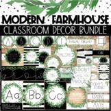 Modern Farmhouse Classroom Decor  - Editable!