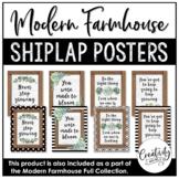 Modern Farmhouse Inspirational Posters (Shiplap)