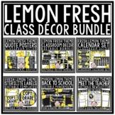 Modern Farmhouse Lemon Classroom Decor Theme: Newsletter T