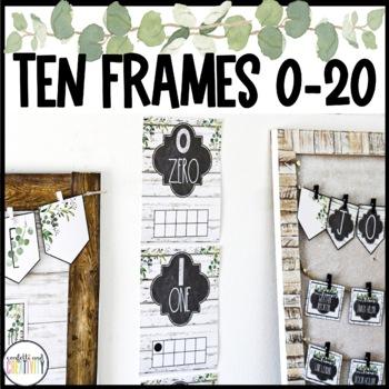 Modern Farmhouse Numbers 0-20