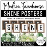 Modern Farmhouse SHINE Posters