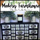 Modern Farmhouse Teacher Toolbox