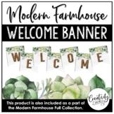 Modern Farmhouse Welcome Banner
