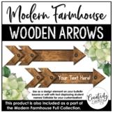 Modern Farmhouse Wooden Arrows