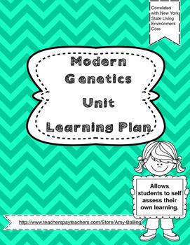 Modern Genetics Learning Plan NY Biology (The Living Environment)