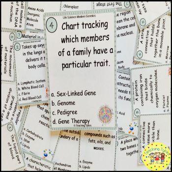 Modern Genetics Task Cards