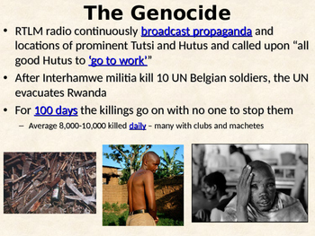 Modern Genocide Guided Notes