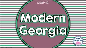 Georgia Studies: Modern Georgia (SS8H12)