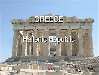 Modern Greek Culture Powerpoint