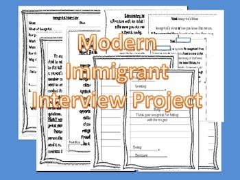 Immigrant Interview