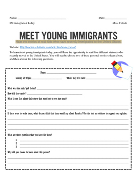 Modern Immigration with Scholastic