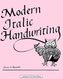 Modern Italic Handwriting - Kindergarten