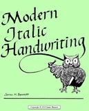 Modern Italic Handwriting -- Second Grade