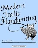 Modern Italic Handwriting Teacher's Guide