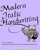 Modern Italic Handwriting -- Third Grade