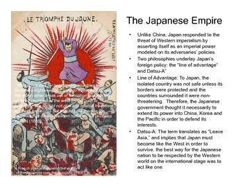 Modern Japan: Taisho + Showa (Presentation)
