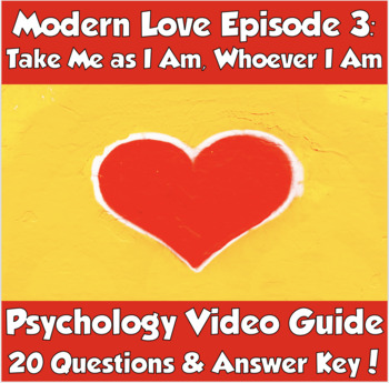 Modern Love: Take Me as I Am, Whoever I Am (Psychology and Bipolar Disorder)