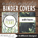 Magnolia Farmhouse Editable Binder Covers and Spines, Teac