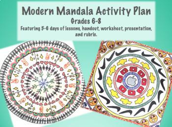 Modern Mandalas with Symbols