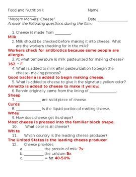 Modern Marvels: Cheese