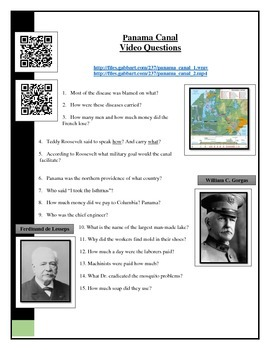 BYOD Assignment - Modern Marvels Panama Canal video worksh