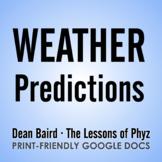 Modern Marvels - Predicting Weather