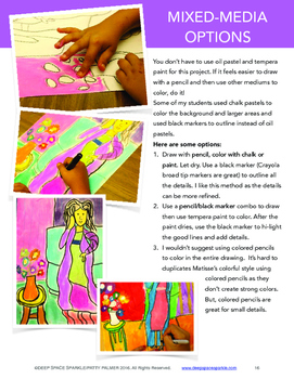 Modern Masters Art Projects for Grades 3-6