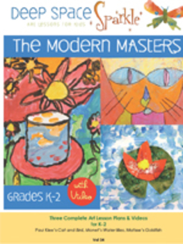 Modern Masters Art Projects Grades K-2