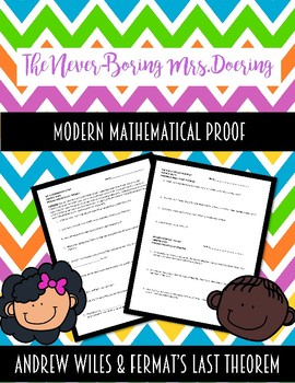 Math is Not Dead! Modern Mathematics Proof Video Notes