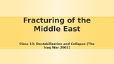 Modern Middle East History Lesson 13/14: Destabilization a