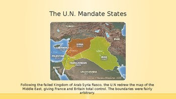 Modern Middle East History Lesson 4/14: The Mandate States