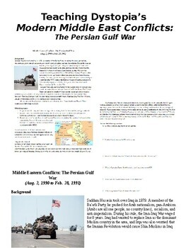 Modern Middle Eastern Conflicts: The Persian Gulf War, Iraq War I