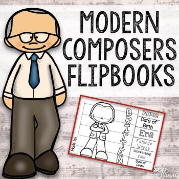 Modern & More Composer Flipbooks