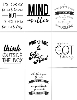 Modern Motivational Posters