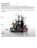Modern Music Research Project: Research Packet