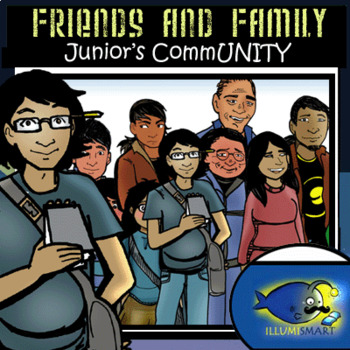 Native Americans (Friends and Family) 30 pc. Clip-Art Set