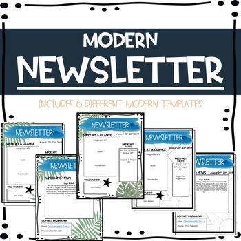 Modern Newsletter