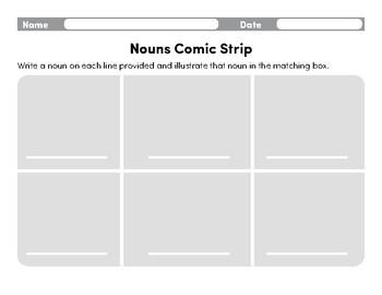 Modern Noun Comic Strip