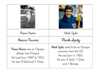 Modern Olympics: Famous Medalists